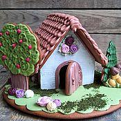 """Пряничный домик """"В цветущем саду. Вариация"""""""