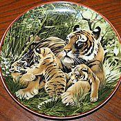 Винтаж handmade. Livemaster - original item Collectible plates, Villeroy & Boch, WWF, Germany. Handmade.