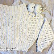"""Одежда ручной работы. Ярмарка Мастеров - ручная работа Вязаный свитер """"Роскошь шелка"""", свитер по мотивам Ruban. Handmade."""