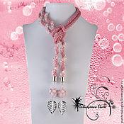 Lariats handmade. Livemaster - original item Women`s tie