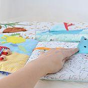 Кубики и книжки ручной работы. Ярмарка Мастеров - ручная работа Развивающая книжка для малыша. Handmade.