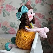 Stuffed Toys handmade. Livemaster - original item Knitted doll. Handmade.