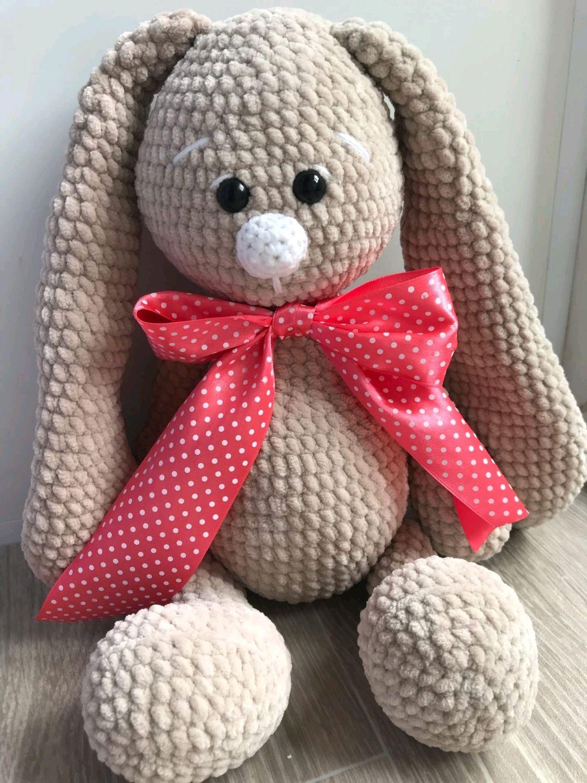 Милый плюшевый зайчик, Мягкие игрушки, Йошкар-Ола,  Фото №1