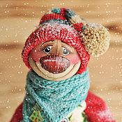 Куклы и игрушки ручной работы. Ярмарка Мастеров - ручная работа Снеговик 1. Handmade.