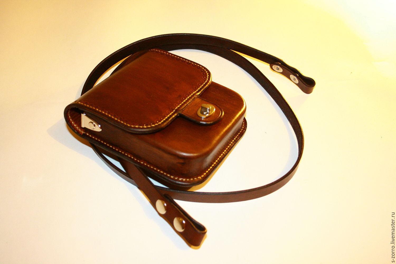 Купить Сумка для документов из кожи - коричневый, сумка