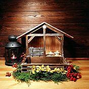 Подарки к праздникам handmade. Livemaster - original item Christmas creche (Nativity scene). Handmade.
