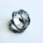 Украшения ручной работы. Ярмарка Мастеров - ручная работа Серебряное кольцо ручной работы. Handmade.