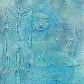 Картины и панно ручной работы. Ярмарка Мастеров - ручная работа Дочь Моря. Картина - принт на холсте. Handmade.