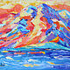 Landscape with mountains oil ' Sunset in the mountains'. Pictures. Lifia Art. Online shopping on My Livemaster.  Фото №2