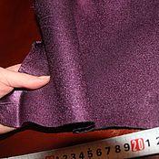Материалы для творчества ручной работы. Ярмарка Мастеров - ручная работа кожа в кусках пыльная слива. Handmade.
