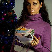 """Одежда ручной работы. Ярмарка Мастеров - ручная работа Платье """"Зимушка-зима 2"""". Handmade."""