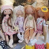 Куклы и игрушки ручной работы. Ярмарка Мастеров - ручная работа Текстильные куколки.. Handmade.