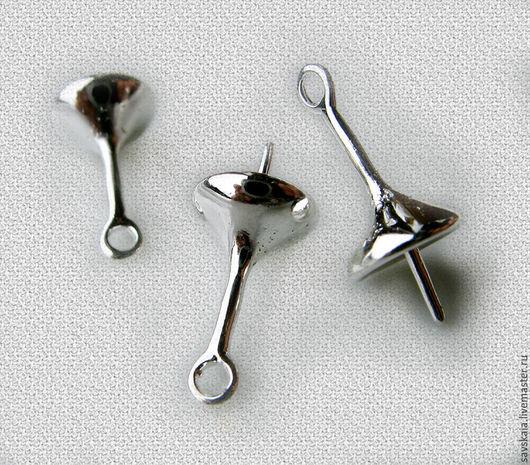 Бейлы для бижутерии Размер 17 мм х 8 мм Диаметр отверстия 1.3 мм