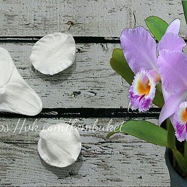 Материалы для творчества ручной работы. Ярмарка Мастеров - ручная работа Молд для фоамирана орхидея каттлея (набор). Handmade.
