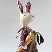 Куклы и игрушки ручной работы. Ярмарка Мастеров - ручная работа Wilma. Текстильный кролик.. Handmade.