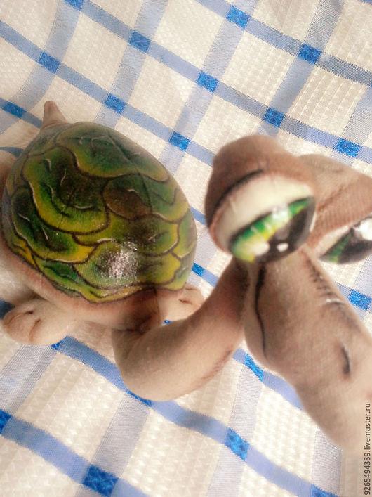 Игрушки животные, ручной работы. Ярмарка Мастеров - ручная работа. Купить Черепашка. Handmade. Текстильная игрушка, подарок, интерьерная игрушка