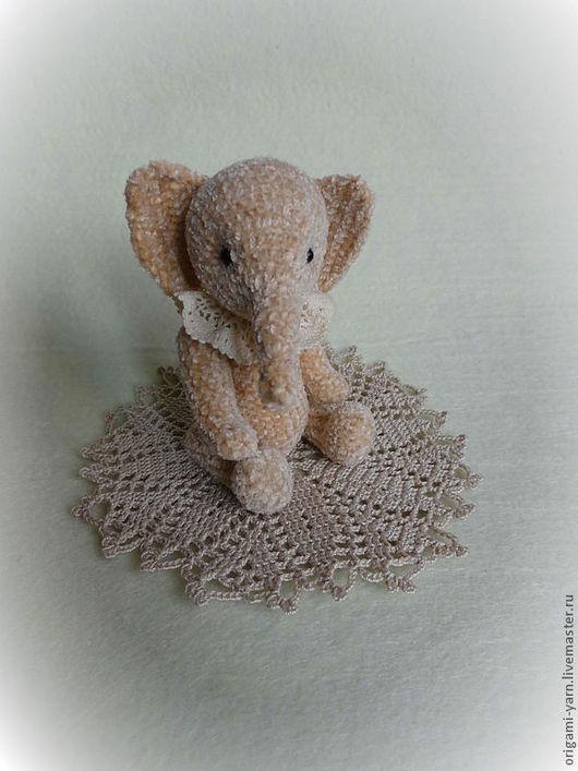 Мишки Тедди ручной работы. Ярмарка Мастеров - ручная работа. Купить Агата. Handmade. Кремовый, слоник тедди, шплинты