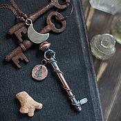 """Украшения ручной работы. Ярмарка Мастеров - ручная работа Кулон """"Ключ от травницкой"""". Handmade."""