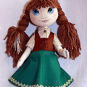 Куклы и игрушки ручной работы. Ярмарка Мастеров - ручная работа Кукла Принцесса Анна из Ледяного Сердца. Handmade.