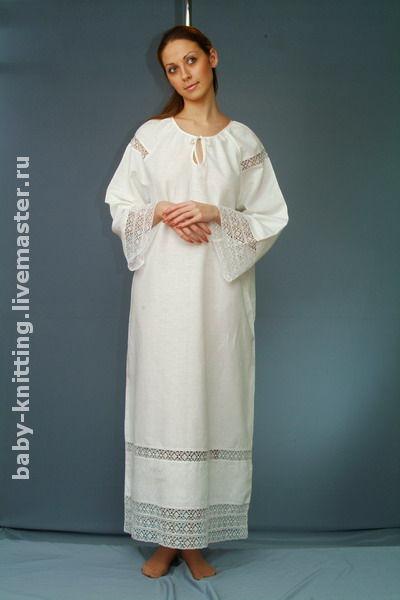 Крестильная рубашка для взрослых, Крестильные рубашки, Москва,  Фото №1