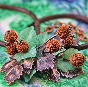 """Украшения ручной работы. Ярмарка Мастеров - ручная работа Колье """"Летние ягоды"""". Handmade."""