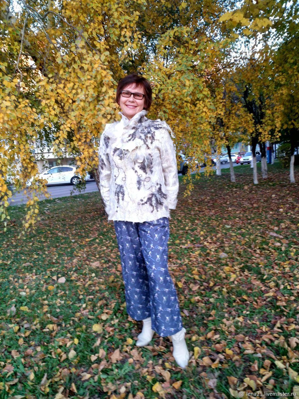 Свитер с шарфом, Свитеры, Раменское,  Фото №1