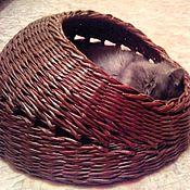 Для домашних животных, ручной работы. Ярмарка Мастеров - ручная работа Лежанка для кошки. Handmade.