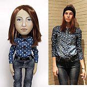 Куклы и игрушки ручной работы. Ярмарка Мастеров - ручная работа Алина, кукла с портретным сходством.. Handmade.