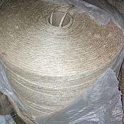 Материалы для творчества handmade. Livemaster - original item Jute yarn 3 MM knitting eco carpets.in the style of Provence.. Handmade.