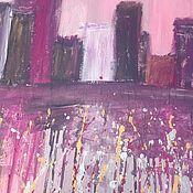 Картины и панно handmade. Livemaster - original item Painting with acrylic paints on canvas. Handmade.