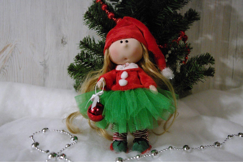 Новогодняя Гномочка, Куклы и пупсы, Москва,  Фото №1
