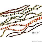Chains handmade. Livemaster - original item Strass chain. Handmade.