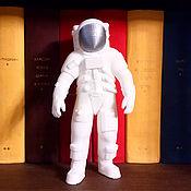 Сувениры и подарки handmade. Livemaster - original item Astronaut of the Apollo 18 cm (Silver). Handmade.
