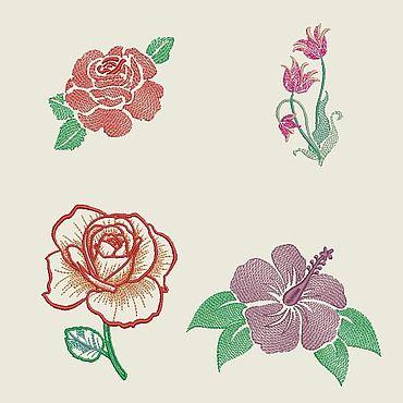 Материалы для творчества ручной работы. Ярмарка Мастеров - ручная работа Схемы: Цветы. Handmade.