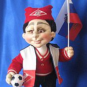 Куклы и игрушки handmade. Livemaster - original item Bolelshik of FC