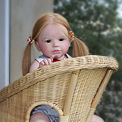 Куклы и игрушки ручной работы. Ярмарка Мастеров - ручная работа милая  Эльза из молда Sally2. Handmade.