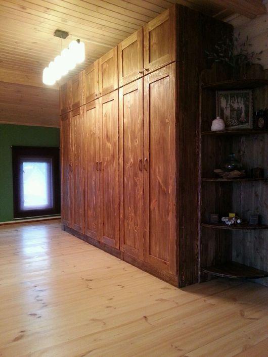 Мебель ручной работы. Ярмарка Мастеров - ручная работа. Купить Шкаф деревянный Лофт. Handmade. Шкаф, шкаф под старину