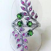Украшения handmade. Livemaster - original item Ring with natural stones