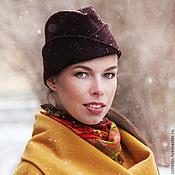 Аксессуары handmade. Livemaster - original item Hat-forage cap with flaps. Handmade.