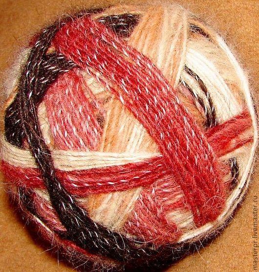 Пряжа «Радуга-1» дизайнерская для ручного вязания из собачьего пуха .\r\nИспользован элитный пух самоедской лайки и кавказской овчарки .\r\nПряжа «Радуга-1» - 5-ти цветная .