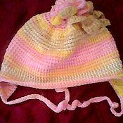 Работы для детей, ручной работы. Ярмарка Мастеров - ручная работа Тунисская шапка. Handmade.