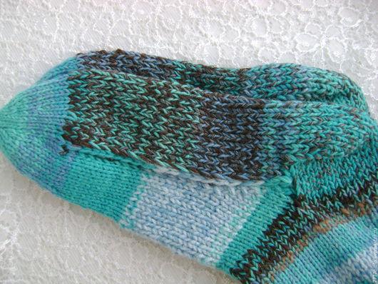 Носки, Чулки ручной работы. Ярмарка Мастеров - ручная работа. Купить Носки с усиленной подошвой и пяткой р-р 40. Handmade.