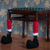 """Для дома и интерьера ручной работы. Ярмарка Мастеров - ручная работа Украшение для стульев """"башмачки"""". Handmade."""