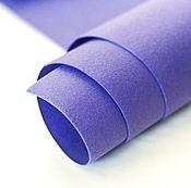 Материалы для творчества ручной работы. Ярмарка Мастеров - ручная работа Фетр под термотрансфер фиолетовый 1,0 мм. Handmade.