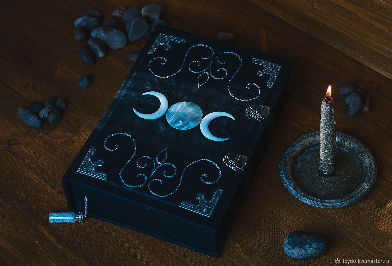 """Book of shadows """"Triune moon"""", Ritual attributes, Nizhny Novgorod,  Фото №1"""