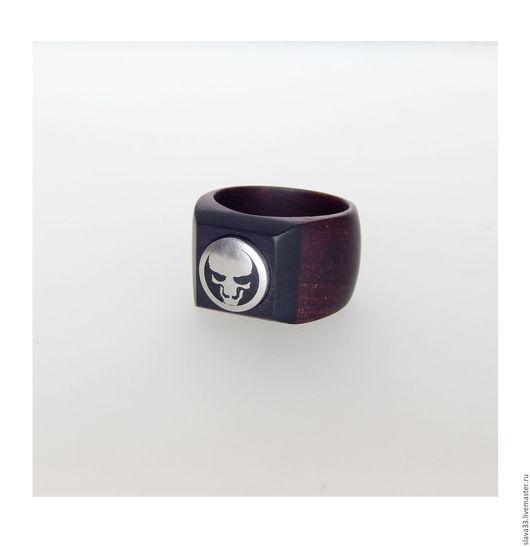 Кольца ручной работы. Ярмарка Мастеров - ручная работа. Купить Перстень. Handmade. Комбинированный, подарок на день рождения