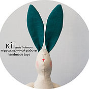 Куклы и игрушки handmade. Livemaster - original item Textile toy Bunny. Bunny Tilda handmade. Handmade.