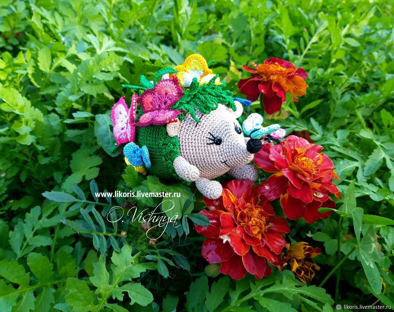 """Бабочка! Коллекция """"Цветочные Ёжики!"""", Мягкие игрушки, Новосибирск,  Фото №1"""