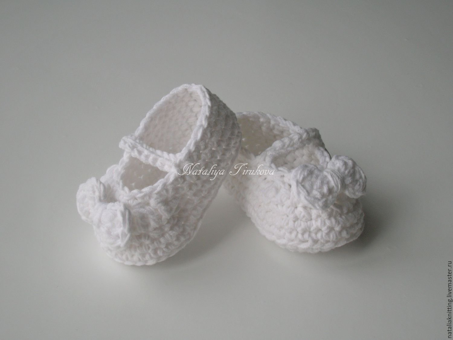 Booties-shoes 'Bows', Booties, Moscow,  Фото №1