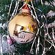 Новый год 2017 ручной работы. Заказать Соборная площадь Кремля. Анна. Ярмарка Мастеров. Елочный шар, храм, стекло